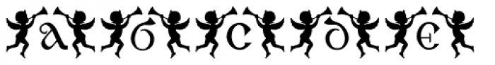 Angelica Font LOWERCASE