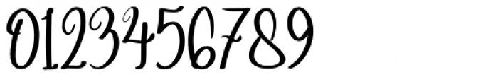 Angelina Script Regular Font OTHER CHARS