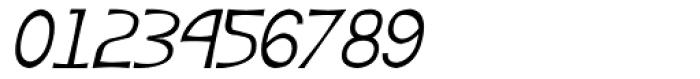 Angelus III Italic Font OTHER CHARS