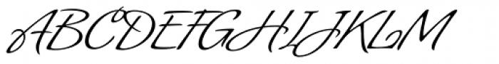 Angelus Font UPPERCASE