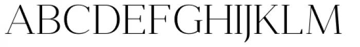 Anglecia Pro Display Extra Light Font UPPERCASE