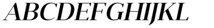 Anglecia Pro Display Medium Italic Font UPPERCASE