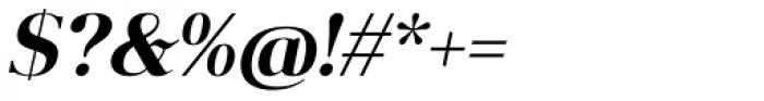 Anglecia Pro Display Semi Bold Italic Font OTHER CHARS