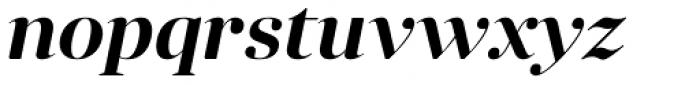 Anglecia Pro Display Semi Bold Italic Font LOWERCASE