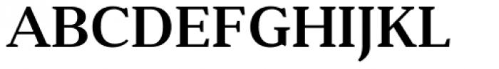 Anglecia Pro Text Semi Bold Font UPPERCASE