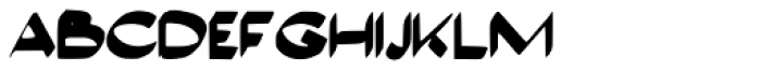 Anglier Font LOWERCASE