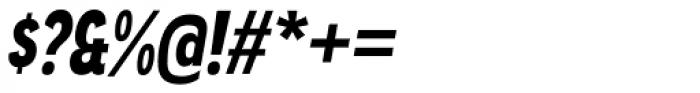 Angostura Black Italic Font OTHER CHARS