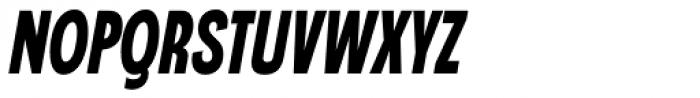 Angostura Black Italic Font UPPERCASE