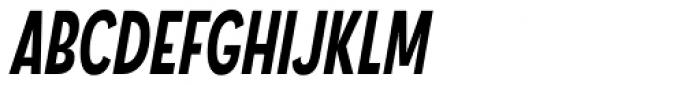 Angostura Bold Italic Font UPPERCASE