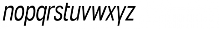 Angostura Book Italic Font LOWERCASE