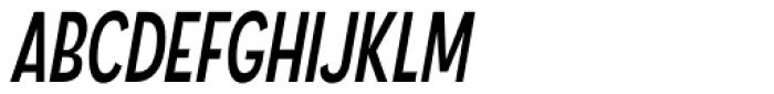 Angostura Italic Font UPPERCASE