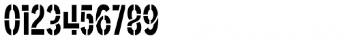 Angostura Stencil Font OTHER CHARS