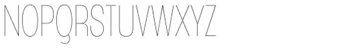 Angostura UltraLight Font UPPERCASE