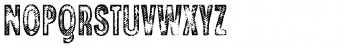 Angostura Wood Font UPPERCASE