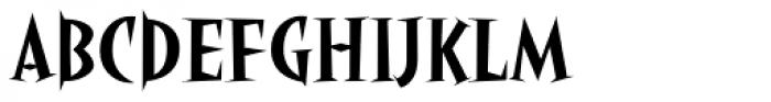 Angryhog Std Font UPPERCASE