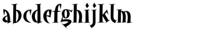 Angryhog Std Font LOWERCASE