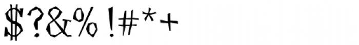Angulatte Light Font OTHER CHARS