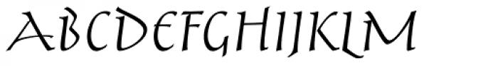 Aniene Nuova Regular SC Font UPPERCASE