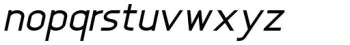 Anikka Sans Italic Font LOWERCASE