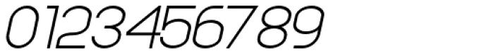 Anikka Sans Light Italic Font OTHER CHARS