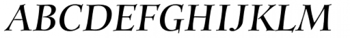 Anima Bold Italic Font UPPERCASE