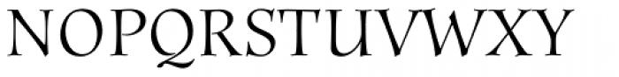 Anima Std Font UPPERCASE