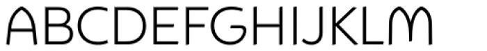 Animo Light Font UPPERCASE