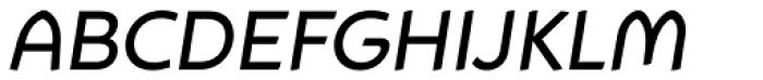 Animo Medium Italic Font UPPERCASE
