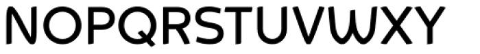 Animo Medium Font UPPERCASE
