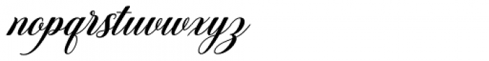 Anindira Regular Font LOWERCASE
