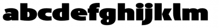 Anisette Std Petite Black Font LOWERCASE