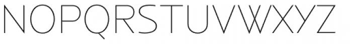 Anisette Std Petite Thin Font UPPERCASE