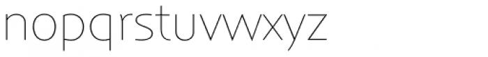 Anisette Std Petite Thin Font LOWERCASE