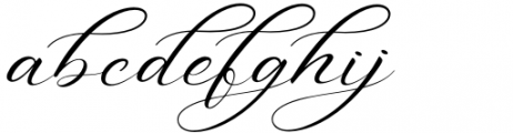 Aniyah Regular Font LOWERCASE