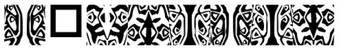 Ann Dingbatik Seven Font OTHER CHARS