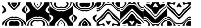Ann Dingbatik Seven Font LOWERCASE