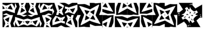 Ann Dingbatik Three Font UPPERCASE