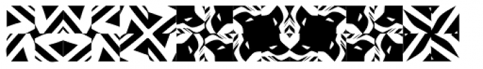 Ann Dingbatik Three Font LOWERCASE