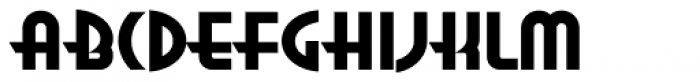 Anna Extended Font UPPERCASE