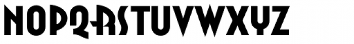 Anna Std Extended Font UPPERCASE