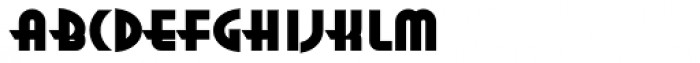 Anna Std Extended Font LOWERCASE