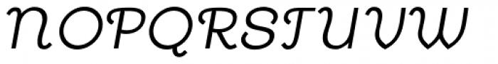 Annabel Lee Oblique Font UPPERCASE