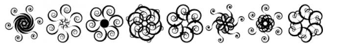 Annaemones Font UPPERCASE