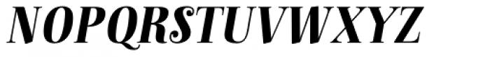 Anne Bonny Black Italic Font UPPERCASE