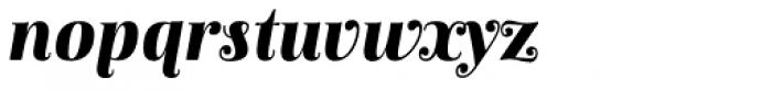 Anne Bonny Black Italic Font LOWERCASE