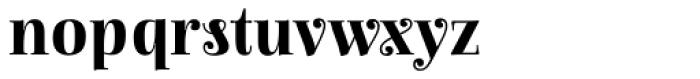 Anne Bonny Bold Font LOWERCASE