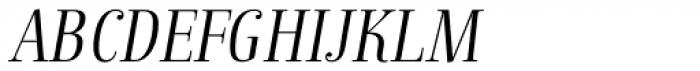 Anne Bonny Light Italic Font UPPERCASE