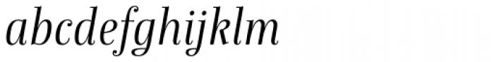 Anne Bonny Light Italic Font LOWERCASE