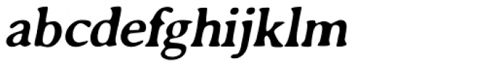 Annexxus Oblique Font LOWERCASE