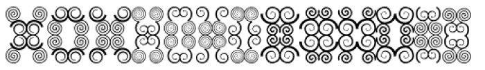 Anns Butterfly Eight Font UPPERCASE